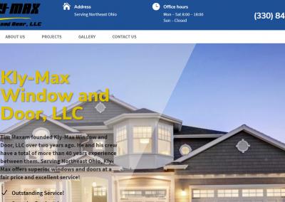 FireShot Capture 036 - Kly-Max Window & Door_ Windows and Door Installation_ - klymaxwindowanddoor.com