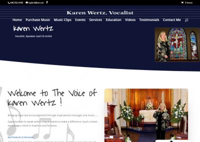 FireShot Capture 037 - Karen Wertz - Christian & Secular Singer - www.karenwertzvocalist.com